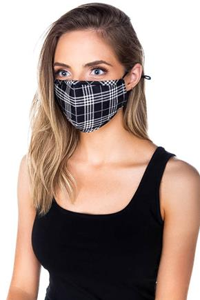 Plaid Non-Medical Face Mask