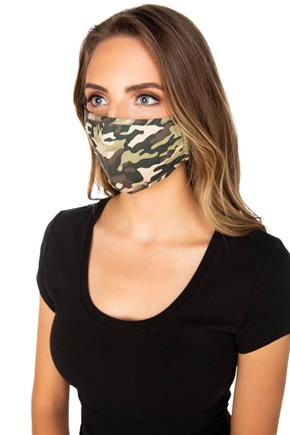 Camo Non-Medical Face Mask