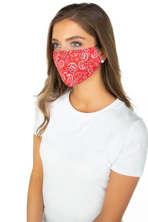 Red Bandana Non-Medical Face Mask