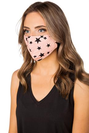 Star Print Non-Medical Face Mask