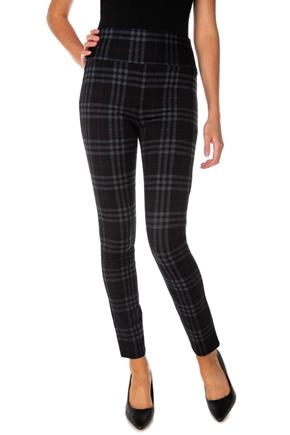 Esther Plaid Seriously Slimming© Skinny Pant
