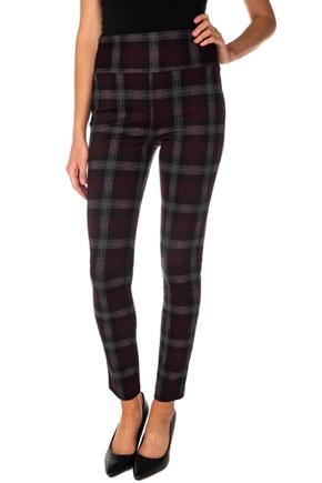 Keira Plaid Seriously Slimming© Skinny Pant