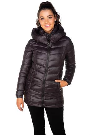Point Zero Mid-Weight Hooded Puffer