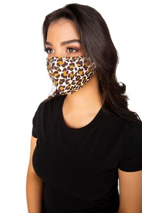Leopard Print Non-Medical Face Mask