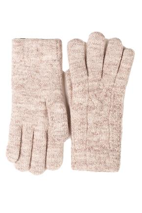 Cable Knit Chenille Lined Gloves