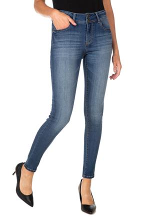 "WallFlower Hayden Wash ""Insta-Soft"" Mid-Rise Skinny Jegging"