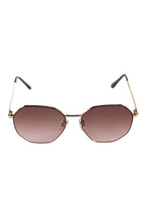Octagon Sunglasses with Metal Frame