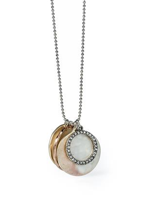 Multi-Circle Long Necklace