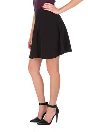 Pull-on Liverpool Skater Skirt