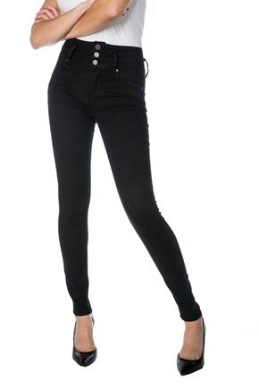 Tattoo Sadie Black High-Rise Skinny Jean