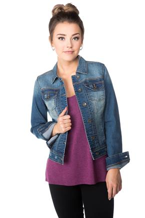 YMI Medium Wash Jean Jacket