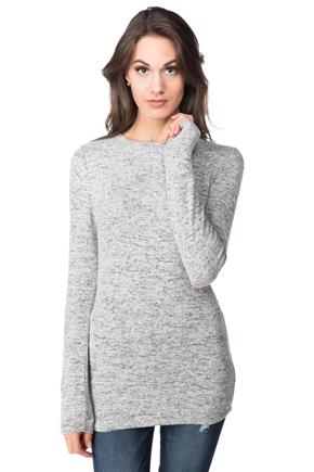 Super Soft Scoop Neck Long Sleeve Sweater