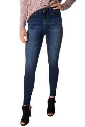 YMI Dark Wash High Rise Skinny Jean