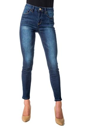 YMI Dark Wash High-Rise Skinny Jean