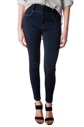 WallFlower Vibe Wash High-Rise Insta-Soft Skinny Jegging