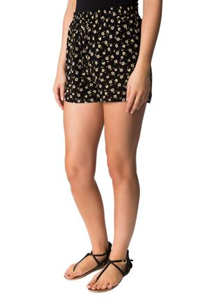 Ditsy Floral Short with Bow