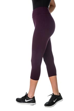 Cropped Legging with Wide Waistband