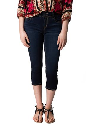 WallFlower Lake Wash Mid-Rise Insta-Soft Skinny Capri