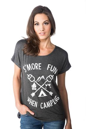 """S'more Fun When Camping"" Graphic Tee"