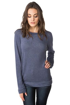 SuperSoft Sweater with Flatlock Stitching