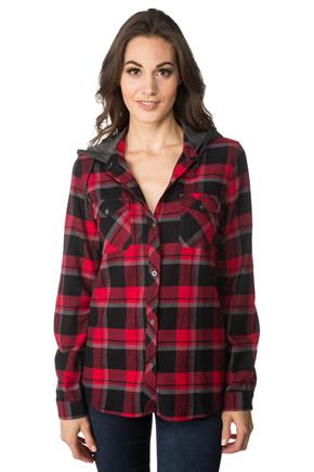 Jackson Plaid Shirt with Hood
