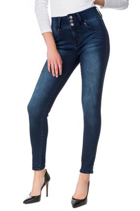 WallFlower Dark Wash High-Rise Sassy Skinny Jegging