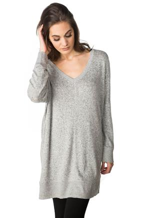 SuperSoft Oversized V-neck Sweater