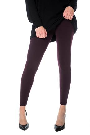 Fleece Lined Legging with Ribbed Waistband