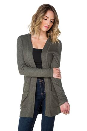 SuperSoft Open Cardigan