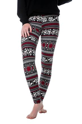 Polar Bear and Reindeer Legging