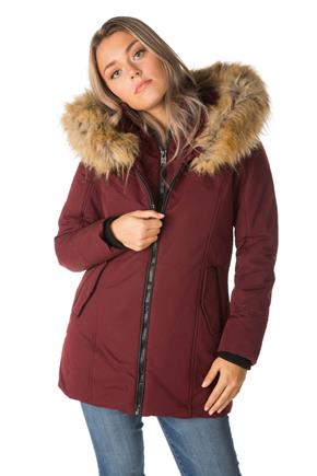 Oxford Parka with Fur Trim Hood