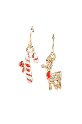 Dangling Set of Holiday Earrings