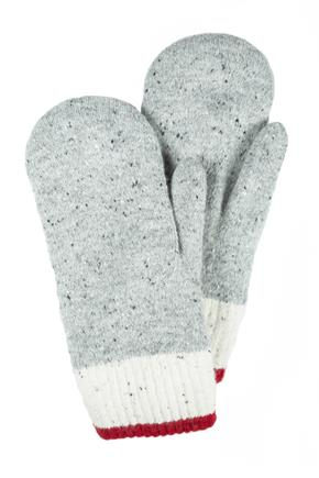 Chenille Lined Lodge Mitten
