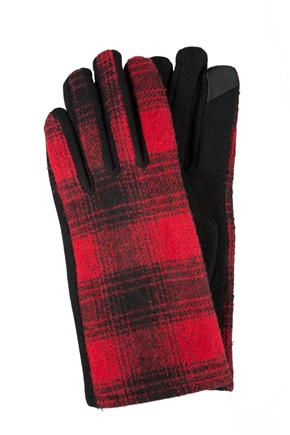 Tricot Plaid Glove
