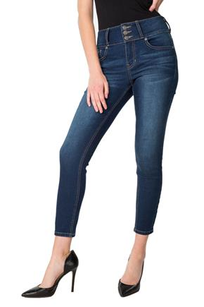 Blue Desire Delancey Wash High-Rise Ankle Skinny Jean