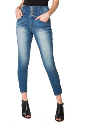 Blue Desire Sylvan Wash High-Rise Ankle Skinny Jean
