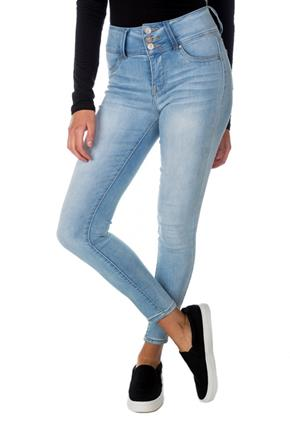 WallFlower Beverly Wash Sassy Skinny High-Rise Jegging