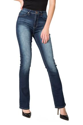 "YMI ""Hide Your Muffin Top"" Dark Wash High-Rise Bootcut Jean"
