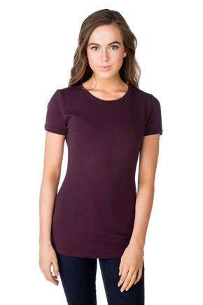 Basic Short Sleeve Crewneck