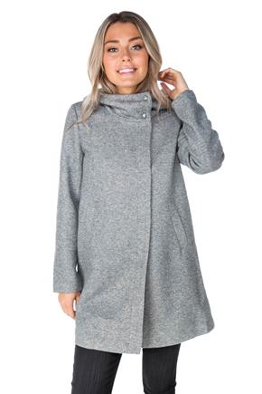 "Only ""Maddie"" Light Hooded Coat"