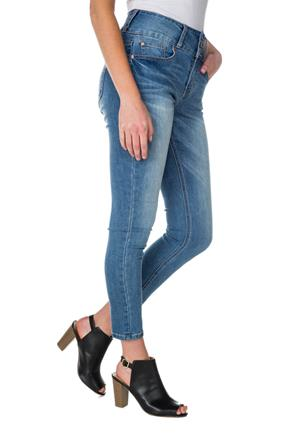 Blue Desire Scarlett Wash High-Rise Ankle Skinny Jean
