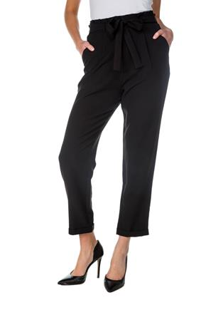 Paperbag Ankle Length Pant with Tie-Belt