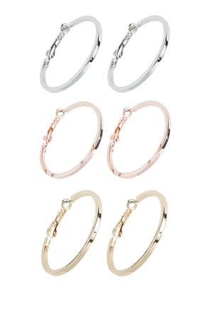 Three Set of Hoops