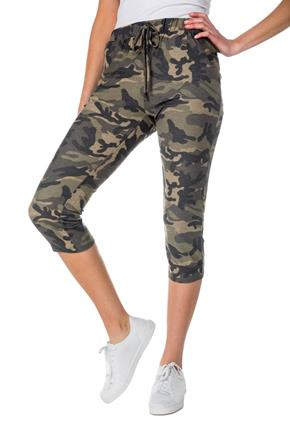Camouflage Cropped Jogger