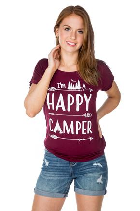 """I'm a Happy Camper"" Graphic Tee"