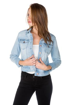 Celebrity Pink Rockaway Wash Basic Jean Jacket