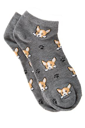 Dogs and Paws Ankle Socks