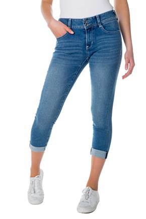 WallFlower Florence Wash Insta-Soft Cuffed Capri