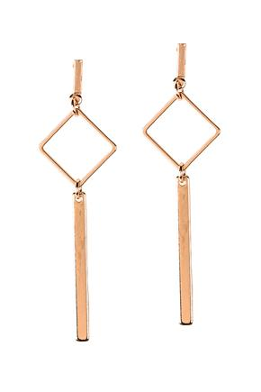 Geometric Stick Drop Earrings