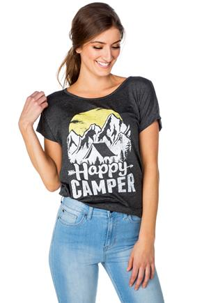"""Happy Camper"" Graphic Tee"